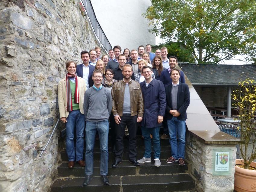 Die Teilnehmer der Traineetagung 2013