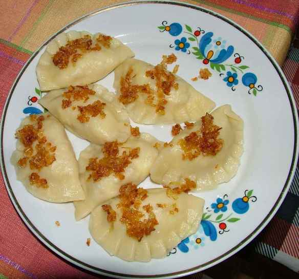 Muss in Polen: Die Pirogie Ruskie © http://upload.wikimedia.org/wikipedia/commons/c/cd/Ruskie.jpg