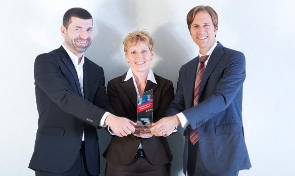 Das Resultat: Tom Lange, Sonja Hauke und Dr. Ralf Murjahn